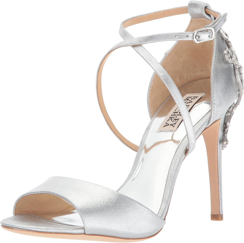 Badgley Mischka Womens Karmen II Heeled Sandal