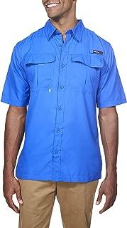 Mens Short Sleeve Lightweight Breathable Outdoor Fishing Shirt