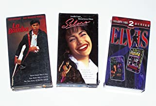 Musical Drama Video Collection (4pk): Selena; La Bamba; Change of Habit; Rare Moments with the King