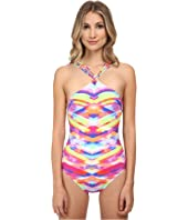 Seafolly - Prismatic High Neck Maillot