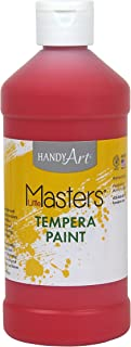 Handy Art Little Masters Tempera Paint 16 ounce, Red