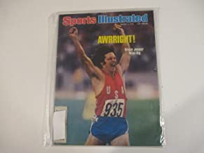 AUGUST 9, 1976 SPORTS ILLUSTRATED MAGAZINE FEATURING BRUCE (CAITLYN) JENNER WINS BIG* *AWRRIGHT!*