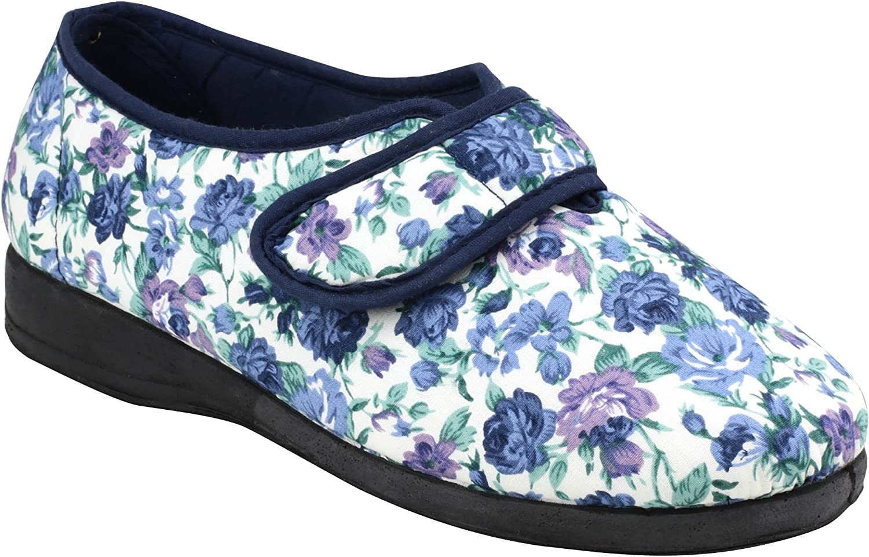 Mirak Womens Diaz Velcro Canvas shoes bluee Size UK 8 EU 41