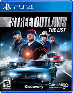 Street Outlaws: The List - PlayStation 4 Standard Edition