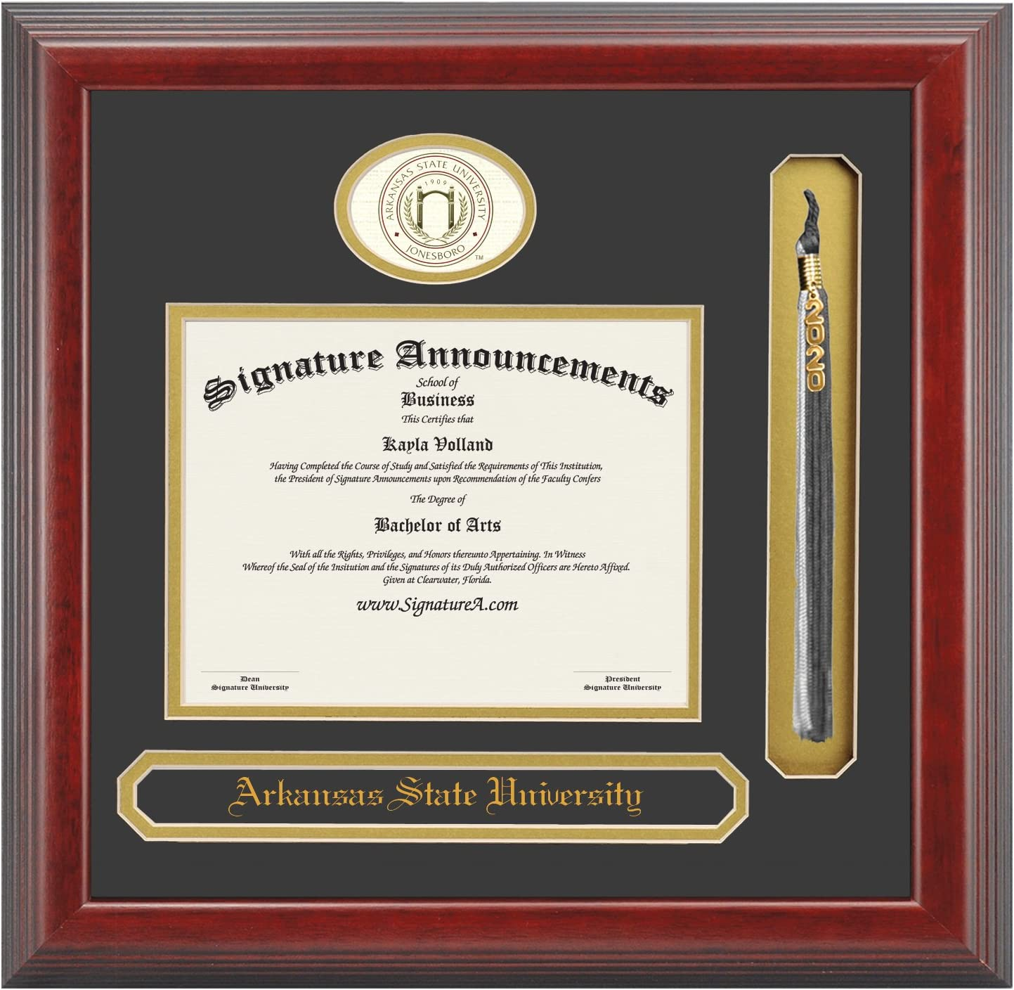 Signature Announcements outlet Arkansas Inexpensive State ASU Undergra University