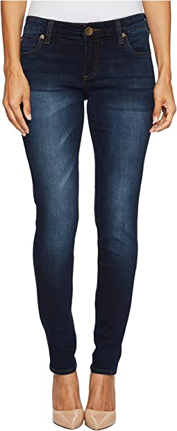 KUT from the Kloth Petite Diana Skinny in Breezy/Dark Stone