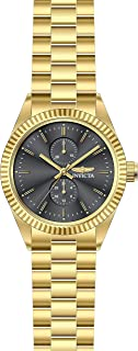 Invicta Men's Specialty Quartz Watch with Stainless Steel Strap, Gold, 22 (Model: 29427)