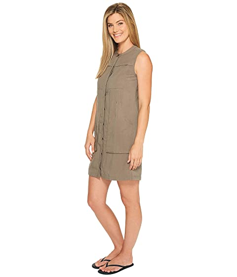 NAU Flaxible Sleeveless Dress Sable Discount Footlocker Finishline 0nzBdxc