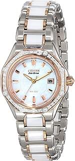 Citizen Women's EW2196-52D The Signature Collection Eco-Drive Octavia Ceramic Diamond Watch