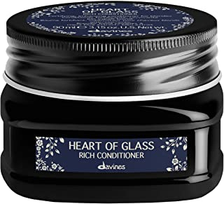 Davines Heart of Glass Rich Conditioner for Blonde Care, 3.15 oz.
