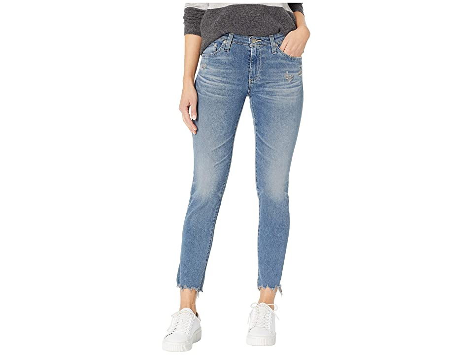 AG Adriano Goldschmied Prima Crop in 23 Years Limelight (23 Years Limelight) Women's Jeans, Blue