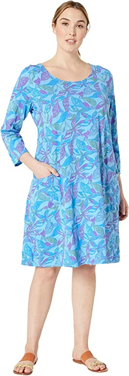 Plus Size Beachside Blooms Dalia Dress