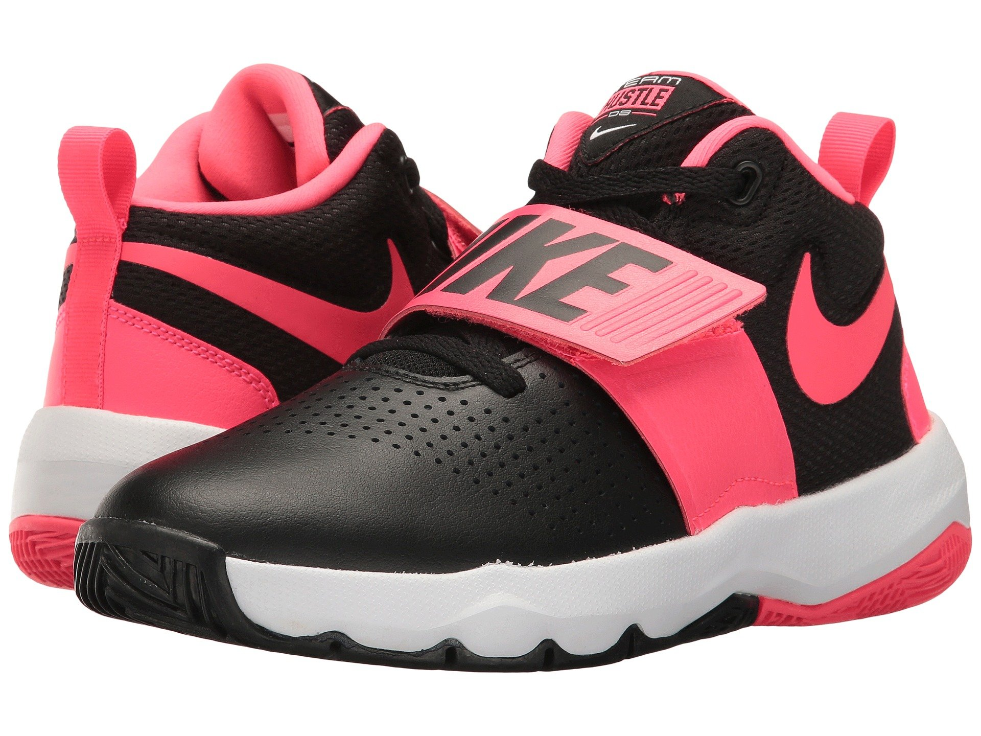 nike girls shoes. view more like this nike kids - team hustle d8 (big kid) girls shoes