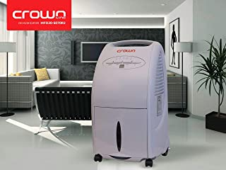 Crownline MFD-205070R Dehumidifier   Exract up to 20L/24hrs   Humidity sensor   with Remote Control   300W