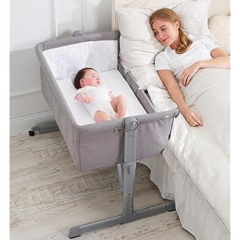 Jane - Minicuna de colecho jané babyside gris: Amazon.es: Bebé