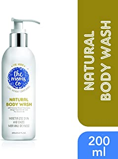 The Moms Co. Natural Body Wash, Australia-Certified Toxin-Free, Coconut Moisturizing Pregnancy Body Wash For Moms And Moms To Be (6.8 Fl Oz)