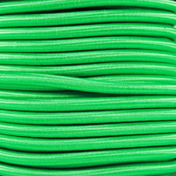 Various Colors West Coast Paracord Elastic Bungee Nylon Shock Cord Multiple Diameters and Lengths