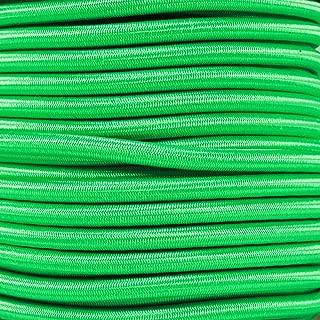 West Coast Paracord Bungee Elastic Nylon Shock Cord (1/4 Inch x 10 Feet, Neon Green)