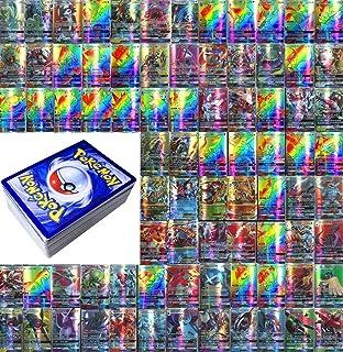 Dorara (95GX+5MEGA) 100 Piezas Pokemon GX y Mega Card TCG Style High HP Sin repetición 2018 Nuevo, Cartas Pokémon Game Battle Card, Tarjetas de Comercio, Regalos para niños