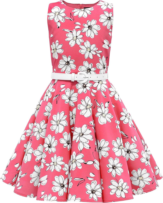 BlackButterfly Miami Mall Kids 'Audrey' Max 81% OFF Vintage Dress Girls 50's Daisy