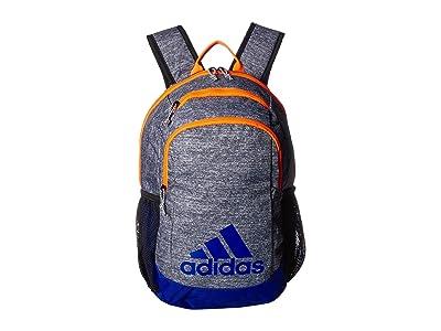 adidas Kids Young BTS Creator Backpack (Little Kids/Big Kids) (Onix Jersey/Collegiate Royal/Solar Orange) Backpack Bags