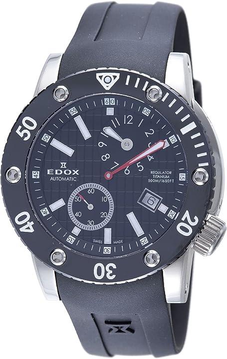 Orologio edox 77001 tin nin regulator automatic class-1 orologio da uomo