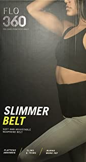 Slimmer Belt for Women Body Fat Burning Sauna Sweat Slimming Abs Trainer (GRAY)