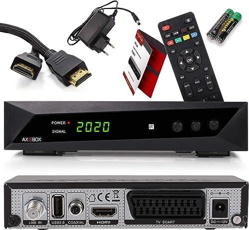 Mejor calificado en Receptores de TV por satélite y reseñas ...