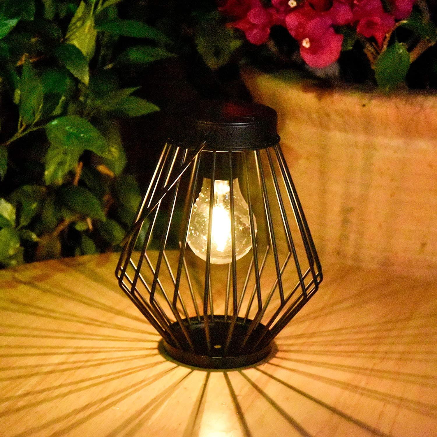 Solar Lantern free Outdoor Hanging Light Cheap mail order specialty store Wa Pearlstar - Powered