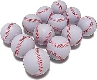 野球 練習 用 ウレタン ボール 白 直径 7cm バッティング キャッチボール トレーニング 安全