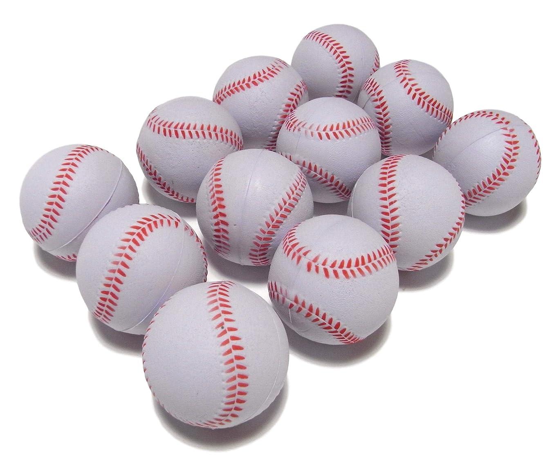 魅惑的な自伝材料野球 練習 用 ウレタン ボール 白 直径 7cm バッティング キャッチボール トレーニング 安全