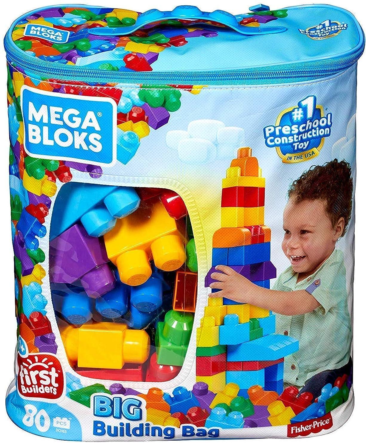 見かけ上トリム民主党Mega Bloks First Builders Big Building Bag - Classic (8327) メガブロックス ビックビルディグ バッグ 8327【並行輸入】3週間程度で発送