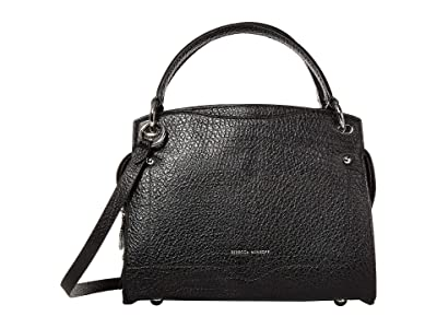 Rebecca Minkoff Val Satchel (Black) Handbags