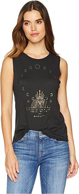 Moon Muscle Tank Top