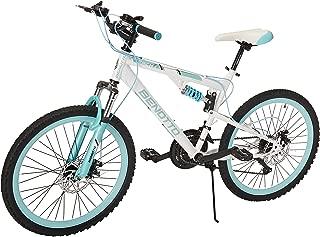 Benotto Bicicleta Mach 1 MTB Acero R24 21V Hombre Shimano Frenos Doble Disco
