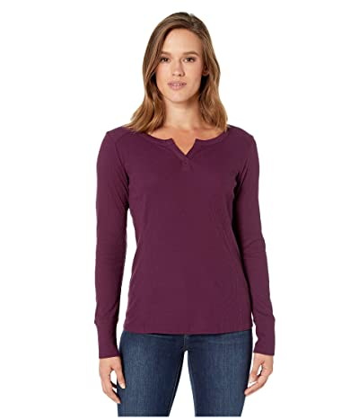 Columbia Fall Pinetm Long Sleeve Pullover (Black Cherry) Women