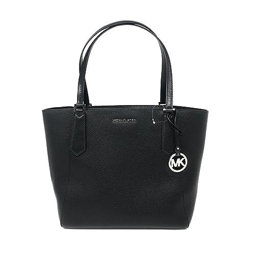 dc648584e11278 Michael Kors Kimberly Large Bonded Signature Tote Bag