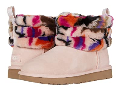 UGG Fluff Mini Quilted (Multi) Women