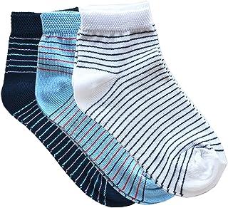 Fontana Calze, 12 paia di calze bimbo in 100% Cotone Filo di Scozia elasticizzato modello Caviglia.