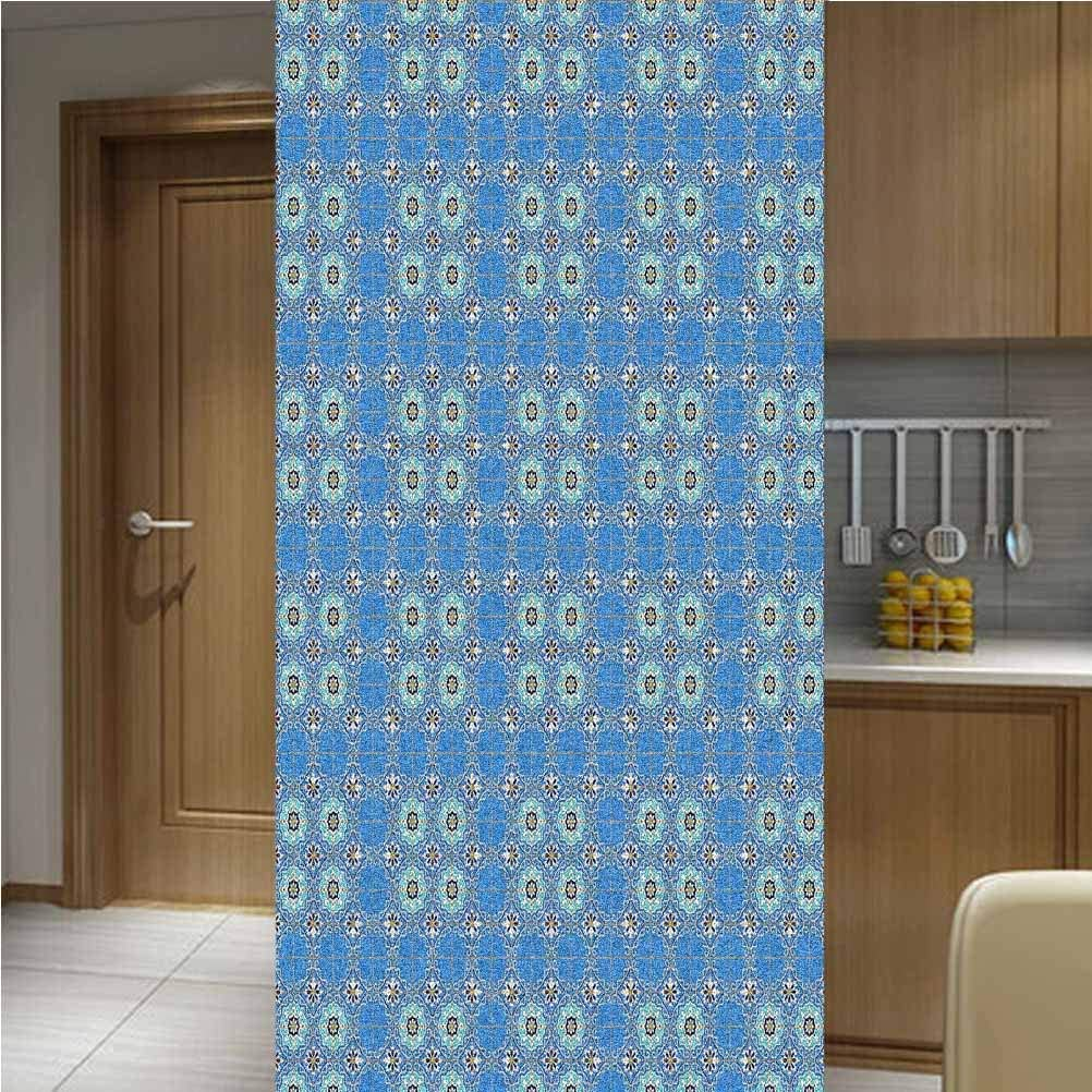 Poppy Safety and trust Ramsden Moroccan 3D Static Cling Inventory cleanup selling sale Piece 48x Window Film One