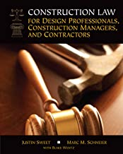 Construction Law for Design Professionals, Construction Managers and Contractors PDF