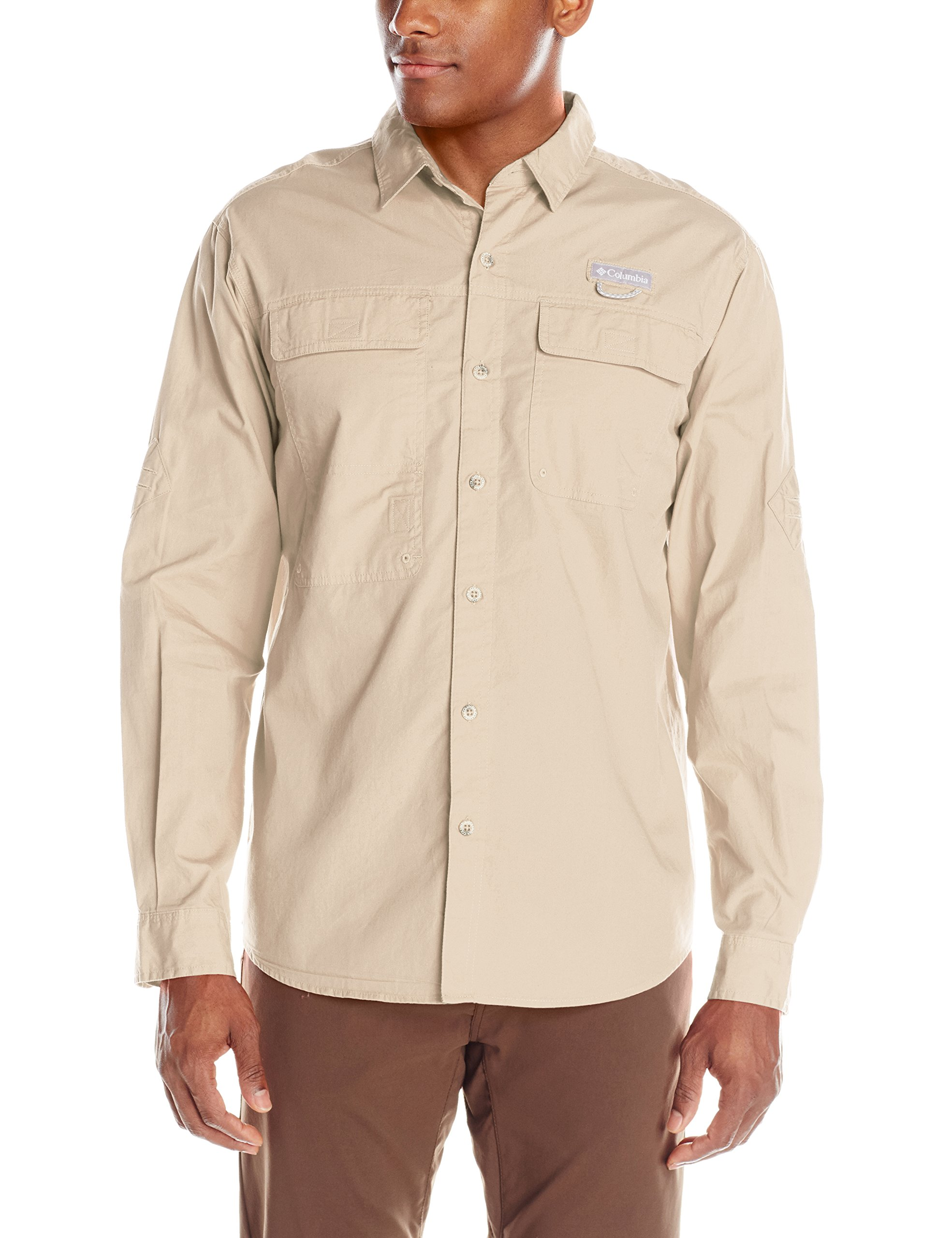Columbia SPORTSWEAR 男式 trailhead 长袖衬衫