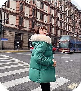 Surprise S Women's Jacket Parkas Women Casual Velvet Fabric Thicken Warm Cotton Down Sintepons Coat
