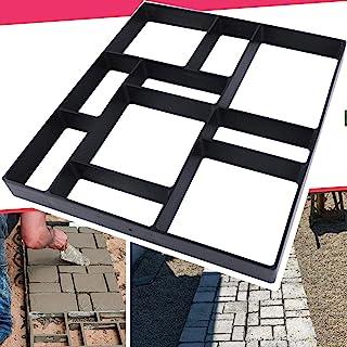 "Anothera 17.5""x15.5""x1.5"" Walk Path Maker Reused Concrete Molds Pathmate Molding Stepping Stone Paver Walk Way DIY Path Pa..."