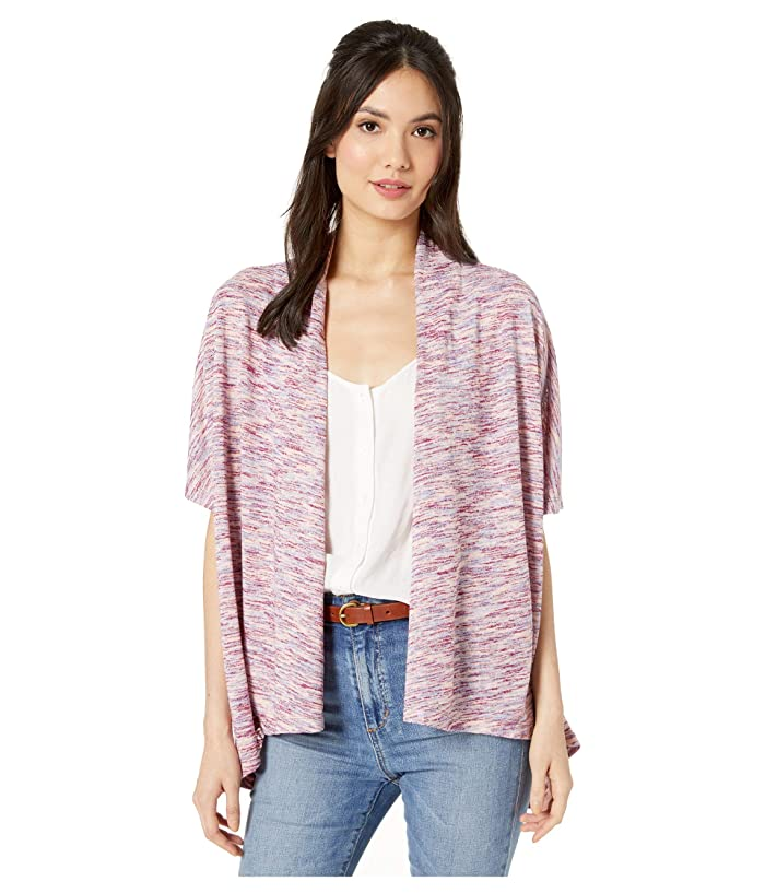 B Collection by Bobeau Helena Cardigan (Mulberry Space Dye) Women