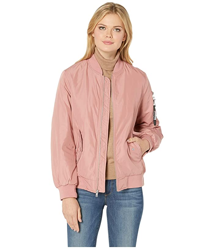 UGG Frances Oversized Bomber (Pink Dawn) Women