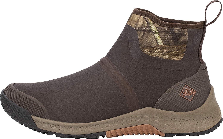 Muck Boots スーパーSALE セール期間限定 送料無料でお届けします Men's Outscape Chelsea Boot Mossy Up Break Brown Oak