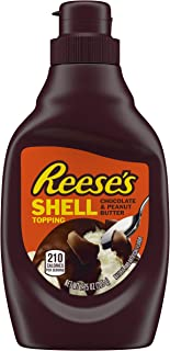 REESE'S Peanut Butter Shell Topping, 7.25 Ounce
