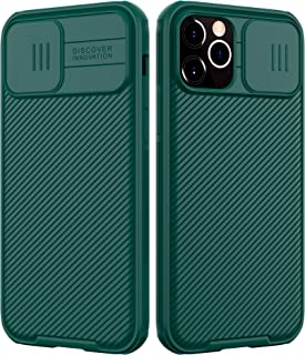 Nillkin Compatible for iPhone 12/12 Pro Case, CamShield Pro Series Case with Slide Camera Cover, Slim Stylish Protective C...