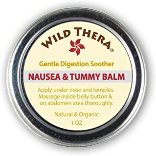Wild Thera Herbal Nausea & Motion Sickness Relief. For PMS, Morning Sickness, Queasiness, Bloating, Upset Stomach, Migraines & Medication. Natural & Organic Ingredients. Portable & lightweight.